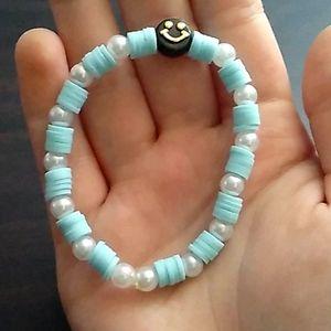 Preppy Flat bead bracelet